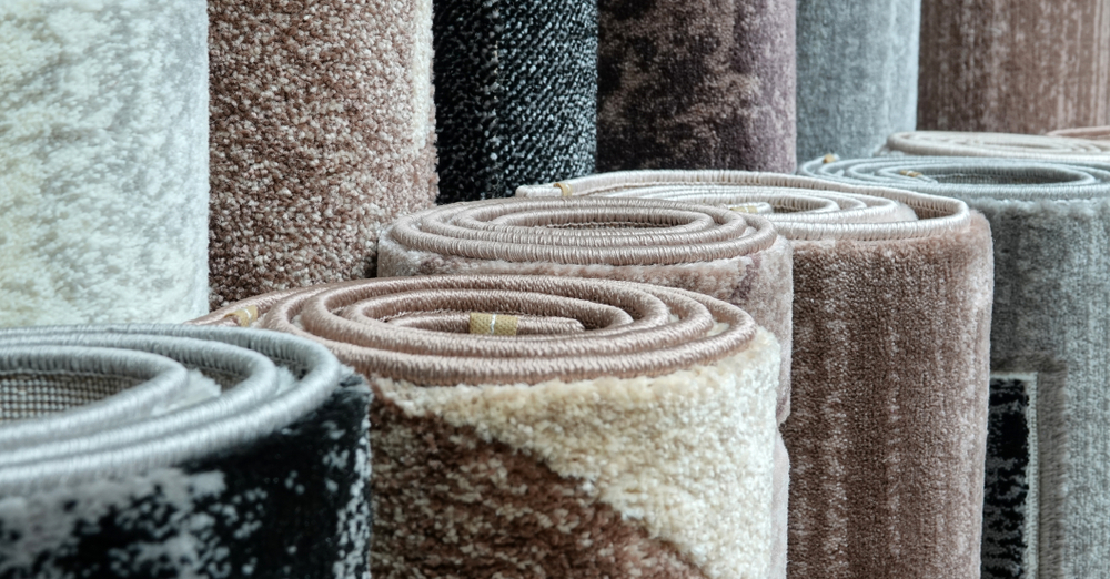 piled rugs