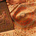 clean an antique rug
