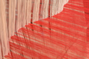 dyed wefts and rug dye bleeding
