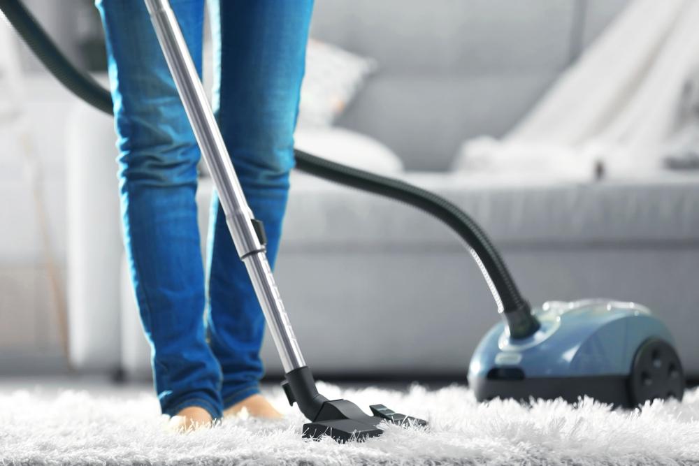 vacuum a wool rug
